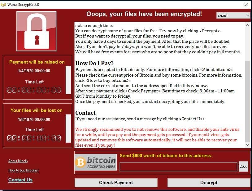 Attacco Ransomware Cryptolocker su scala mondiale.